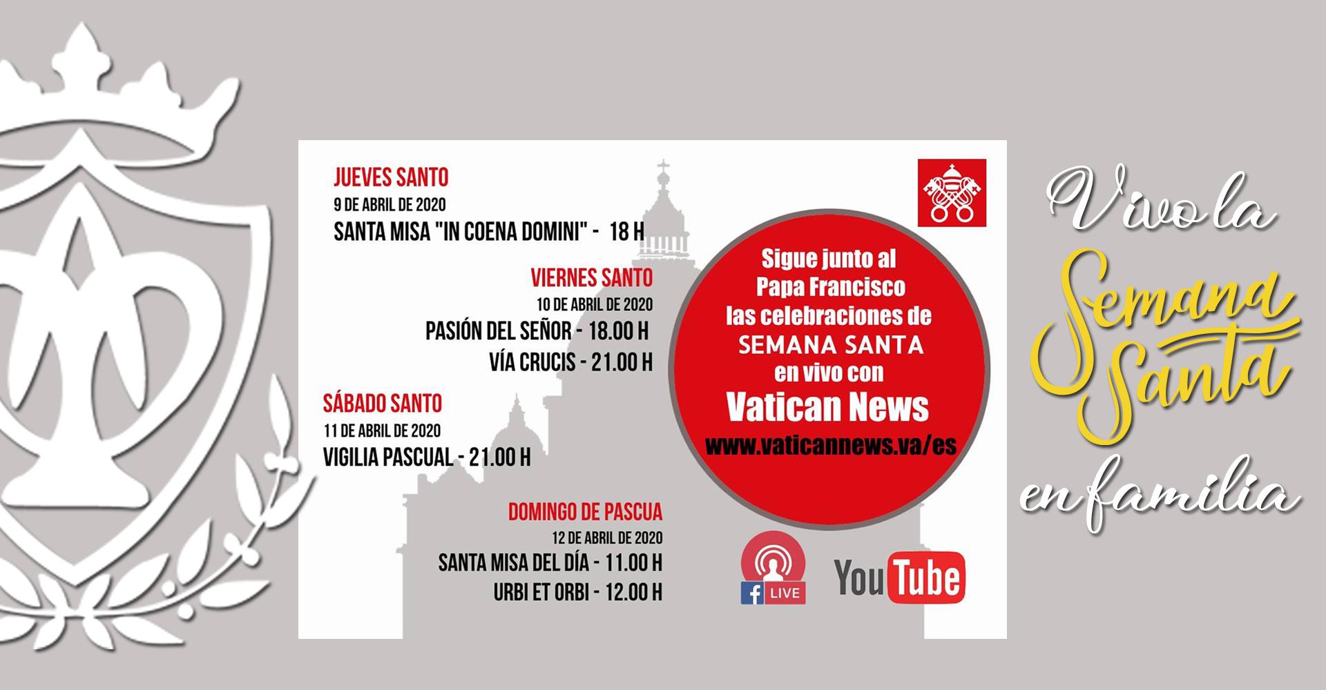 Programación Semana Santa Vaticano